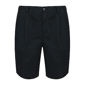 Marine Chino-Shorts mit Taillengummi einfügen