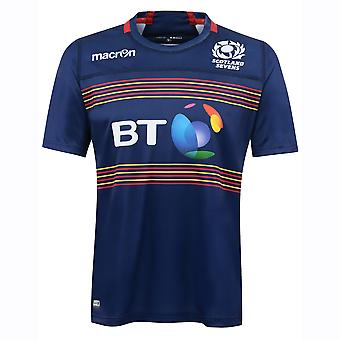 Camiseta de Rugby de poli local 2016-2017 Escocia 7s