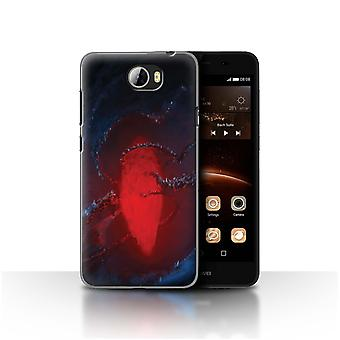 Official Chris Cold Case/Cover for Huawei Y5II/Y5 2/Freezing/Alien World Cosmos