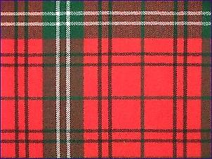 Morrison Red, Modern - Pure Wool Tartan