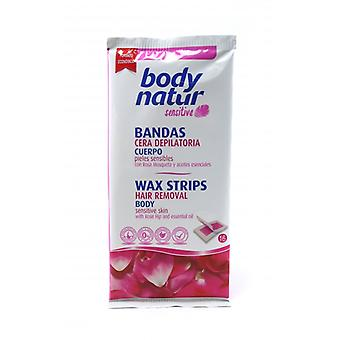 Body Natur Bands Hair Removal Rosehip 6U (Woman , Esthetics , Hair removal , Waxes)