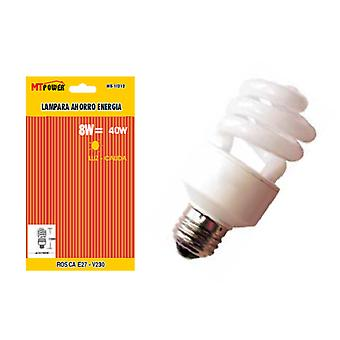 Mercatools Energy saving lamp  Semi-Spiral  8W-E27