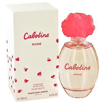 Cabotine Rose By Parfums Gres Edp Spray 100ml