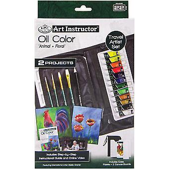 Art Instructor Oil Color Travel Set-Small - 22pc RKC306
