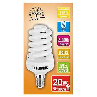 Intercris Saving bulb 20w 8000h035 (Home , Lighting , Light bulbs and pipes)