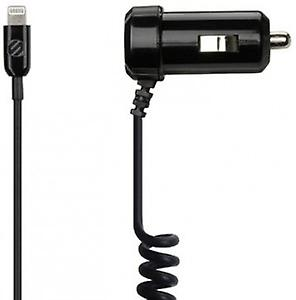 Scosche Dual Strike DRIVE 2.1A Micro-USB Car Charger Lightning iPhone 5 6 6+ / 5S iPad 4 iPod Mini