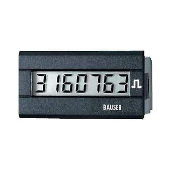 Bauser 3810.2.1.7.0.2 Digital timer or pulse counter - new! Twin solution Assembly dimensions 45 x 22 mm