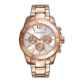 ESPRIT ladies watch bracelet watch Tom stainless steel Chrono Rosé ES108262006