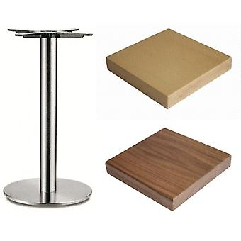 Carla Stainless Steel Table - Base
