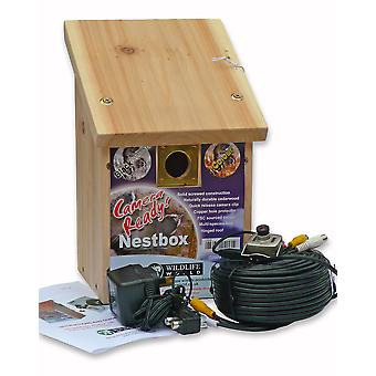 Nest Box With Colour Camera Kit 26x16.5x17cm