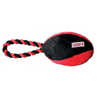 Kong Crossbit Football With Rope Small