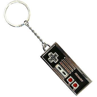 NINTENDO oorspronkelijke geëmailleerd metalen NES Controller sleutelhanger (KE138750NTN)