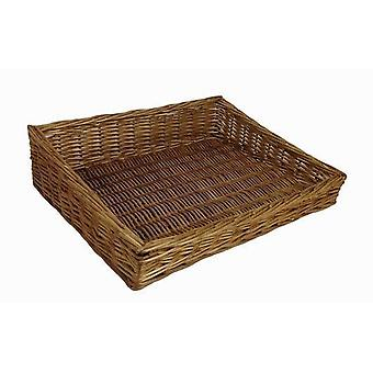 Große Flat-Display Wicker Tray