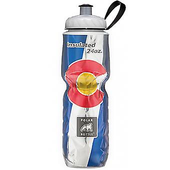 Polar Bottle Sport Insulated 24 oz State Flag Water Bottle - Colorado