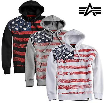 Alpha industries Hoody flag