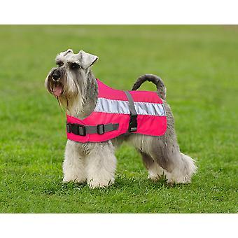 Flecta Hej Vis hund jakke Pink 56cm (22