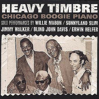 Davis/Sunnyland Slim/Mabon - tunge klangfarve Chicago Boogie Piano [CD] USA import