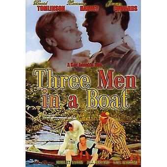 Tre mænd i en båd [DVD] USA importerer