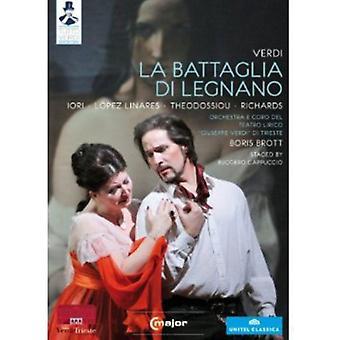 G. Verdi - importación de los E.e.u.u. de La Battaglia Di Legnano [DVD]