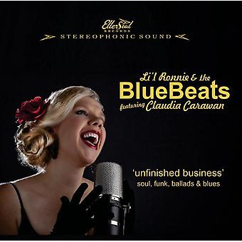 Lil Ronnie & Bluebeats - uafsluttede sager [CD] USA importerer