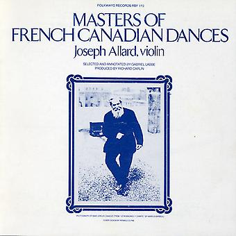 Joseph Allard - Masters of French Canadian Dances [CD] USA import