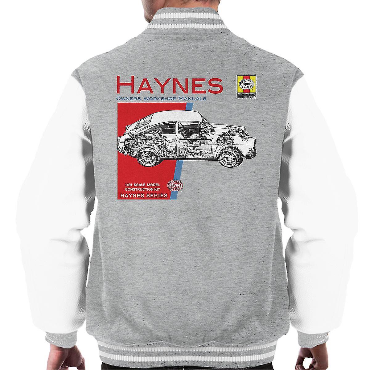 Haynes Owners Workshop Manual 0084 Volkswagen 1600 Fastback mannen Varsity Jacket