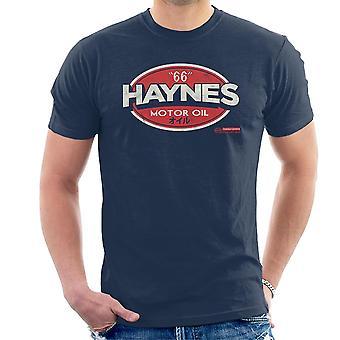 Haynes 66 Motor Öl Golf Logo Herren T-Shirt