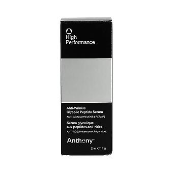 Anthony Logistics højtydende anti-rynke Glycolic peptid Serum 30 ml