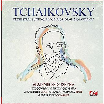 Czajkowski - Orchestral Suite nr 4 w import USA G głównych Op 61 Mozartiana [CD]