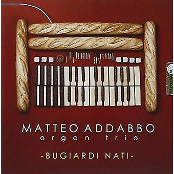 Abbado, Matteo Organ Trio - Bugiardi Nati [CD] USA import
