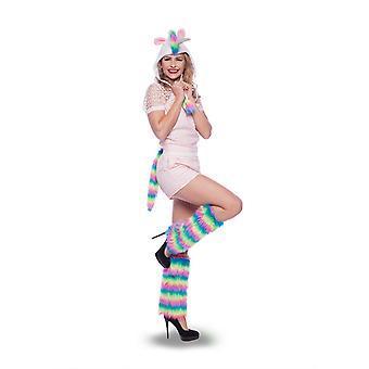 Unicorn leggings leg warmers Unicorn ladies costume accessory