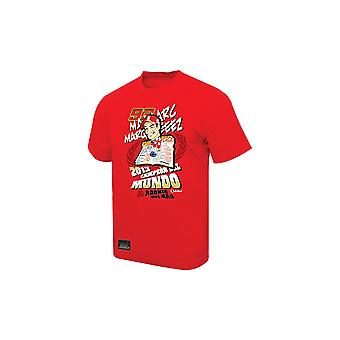 Marc Marquez 93 Marc Marquez MotoGP World Champion T-Shirt White