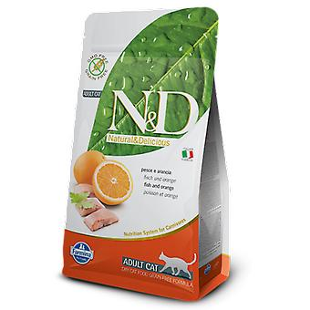 Farmina N&d Grain Free Adult Cat Fisch & Orange (Katzen , Katzenfutter  , Trockenfutter)