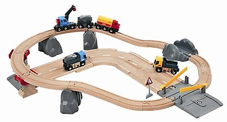 BRIO - Rail and Road Loading Set 33210
