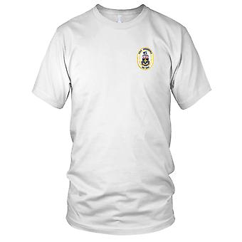 US Navy DD-990 USS Ingersoll Embroidered Patch - Mens T Shirt