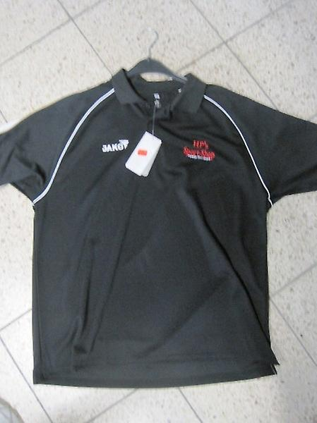 James polo shirt with HP BB´s sports shop advertising
