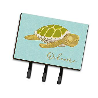 Carolines Treasures  BB8562TH68 Sea Turtle Welcome Leash or Key Holder