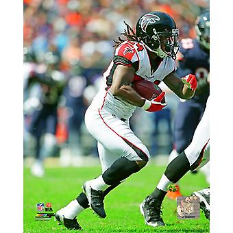 Devonta Freeman 2017 Action Photo Print
