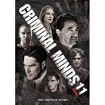 Criminal Minds: Eleventh Season [DVD] USA import