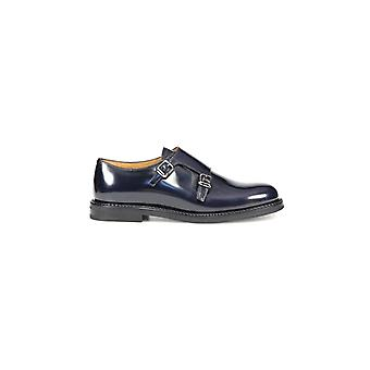 CHURCH'S LORA R NAVY LACE UP