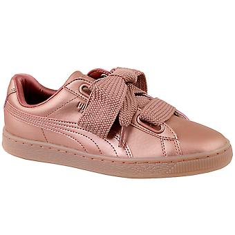 Puma Basket Heart Copper 365463-01 Womens sneakers