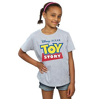 Disney Girls Toy Story Logo T-Shirt