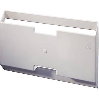 Rittal 2515.000 Switch Triangular Plate Made Of Plastic Polystyrene with self-adhesive mounting rails. Light grey (RAL