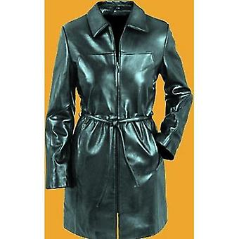 Ladies Jessica Leather 3/4 Coat