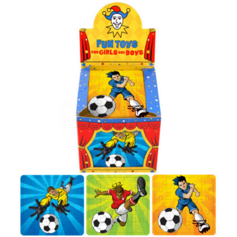 Henbrandt Childrens/Kids Mini Football Jigsaw Puzzle (Box Of 108)