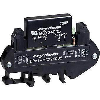 Crydom DRA1-MCXE380D5 DIN Rail Mount Solid State Relay, AC