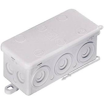 Junction box (L x W x H) 92 x 44 x 41 mm Wiska 10060818 Grey (RA