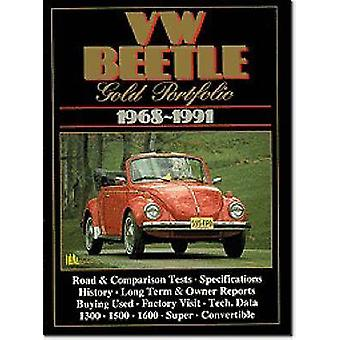 VW Beetle Gold Portfolio 196891 by R. M. Clarke