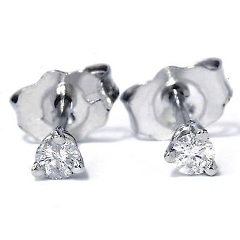 1/6ct Diamond Studs Platinum