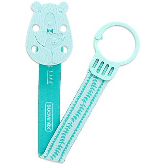 Suavinex Broche Cinta Oso Verde (Childhood , Baby Accessories , Dummies and Clips )